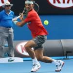 Rafa Nadal - Open-Australia- Lunes 20-01-2014
