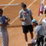 Internazionali BNL Italia 2014. Nadal entrenando 2