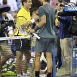 Robredo y Nadal despedida US open 2013 01 b