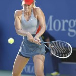 Foto de Sharapova en el US Open 2014