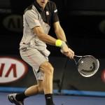 Foto Djokovic - Open-Australia- Martes 21-01-2014