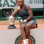 WilliamsSerenaTrofeoRolandGarros2013