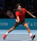 Roger Federer volea