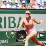 sharapova a la carrera