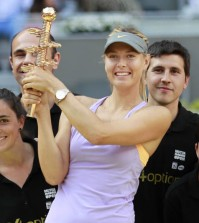 sharapova ganadora madrid